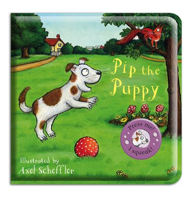 Book cover for Pip the Puppy Bath Book